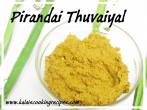 Pirandai Thuvaiyal