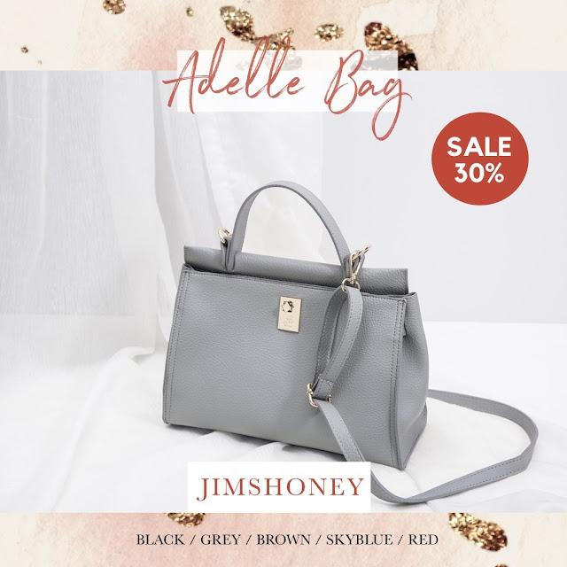 Jims Honey Adele Bag Grey