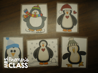 Math Activities that use a penguin 'pest' who hides behind the number cards...an engaging way to get students involved in math activities as they learn number recognition! #math #kindergarten #penguin #kindergartenmath