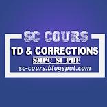 TOUT LES SERIE TD AVEC CORRECTION SMPC S1 PDF