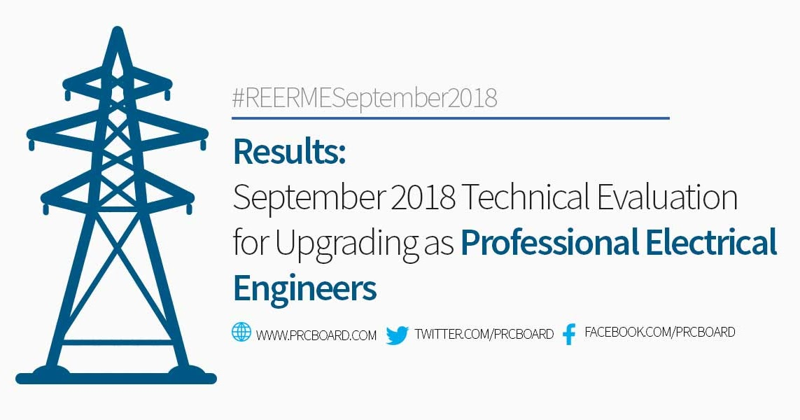 September 2018 Technical Evaluation for Upgrading as Professional