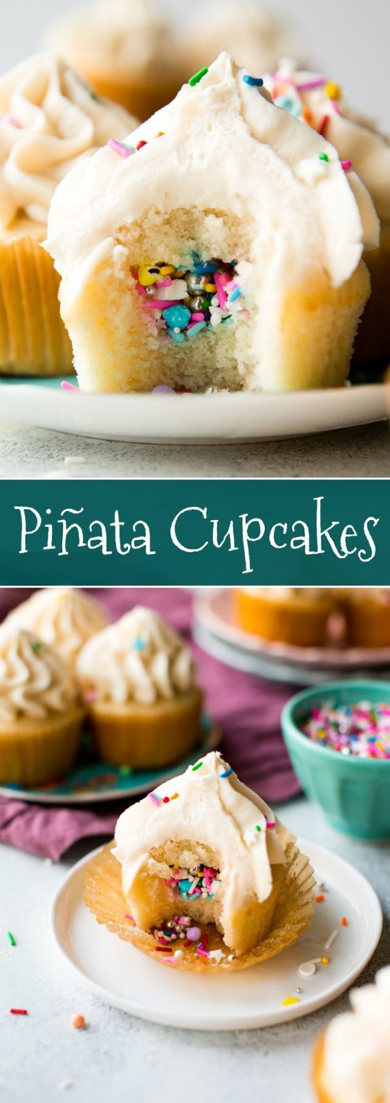 Party Pinata Cupcakes