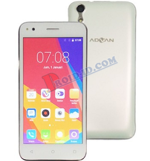 Cara Flash Advan I5C Bootloop