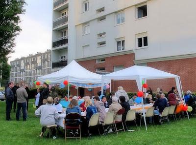 GRAND-QUEVILLY. Au plus proche de ses locataires, le bailleur Quevilly Habitat a organisé la fête des voisins dans plusieurs résidences.