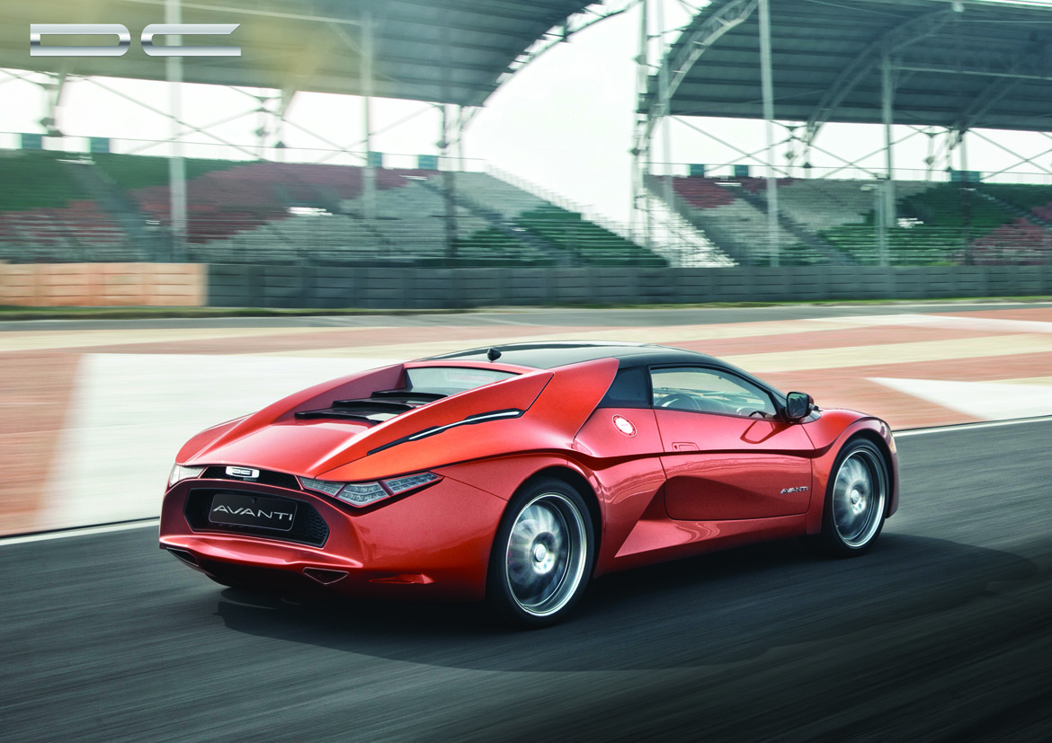 "India's ""Only Supercar"", The New DC Design Avanti"