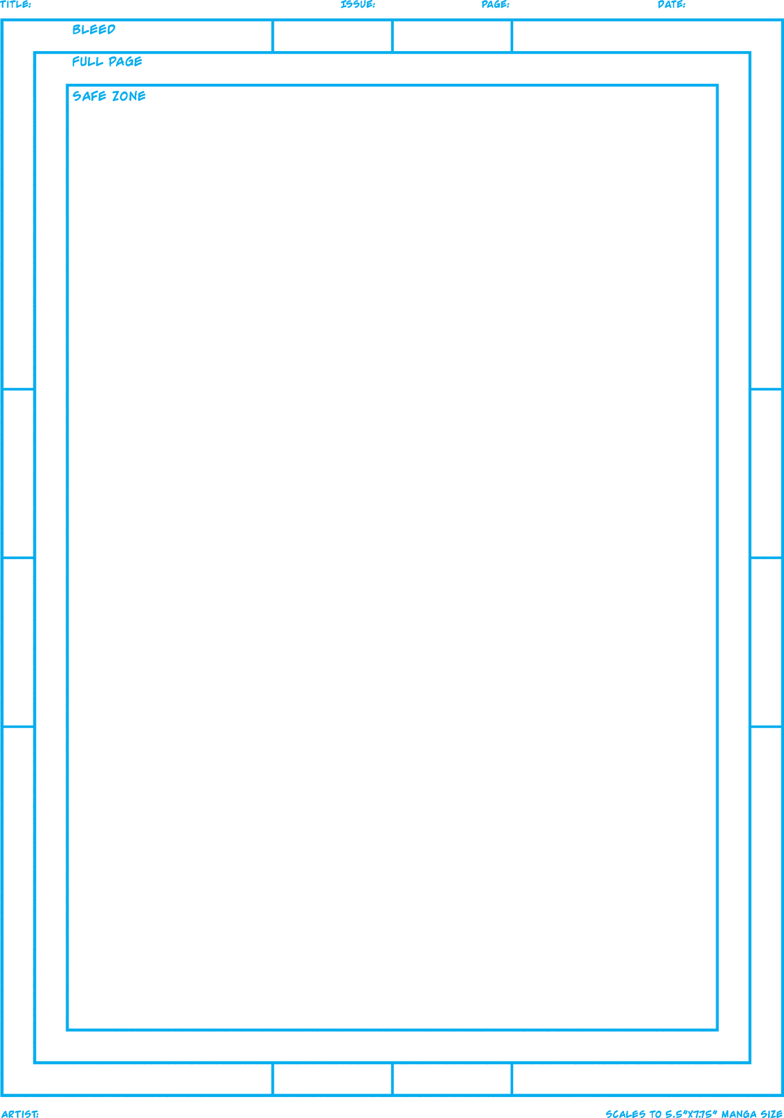 Book Page Template. comic book page templates comic book template ...