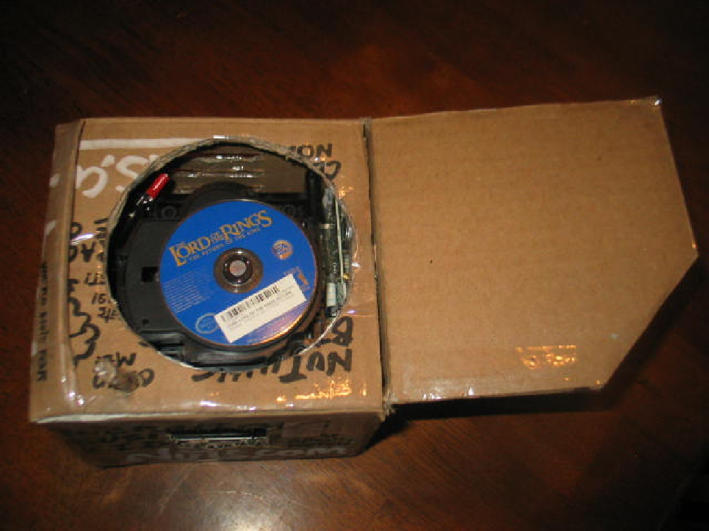 Nintendo Gamebox GC Ghetto Case Mod Custom 0 GameCube Case