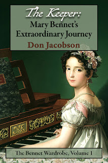 Book cover: The Keeper - Mary Bennet's Extraordinary Journey by Don Jacobson