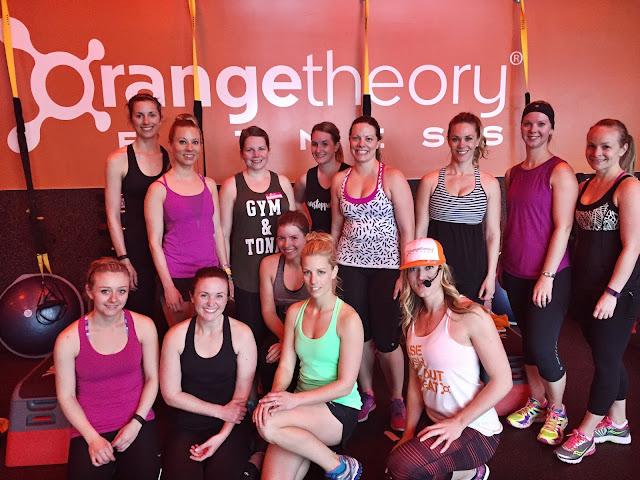 Orangetheory Fitness workout YYC