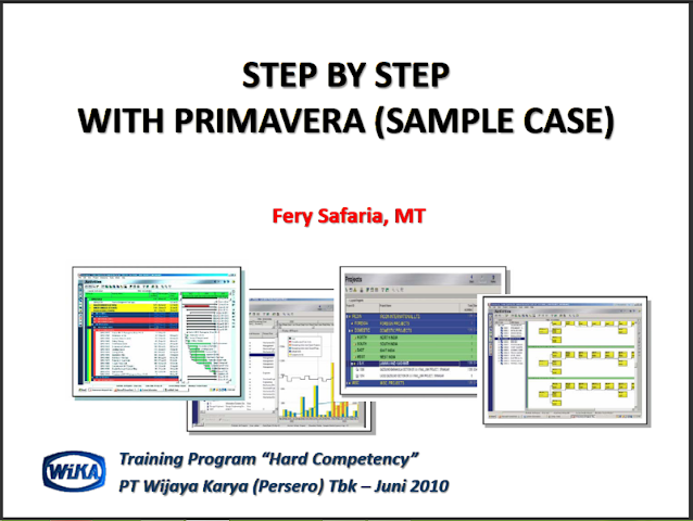 STEP BY STEP WITH PRIMAVERA SAMPLE CASE