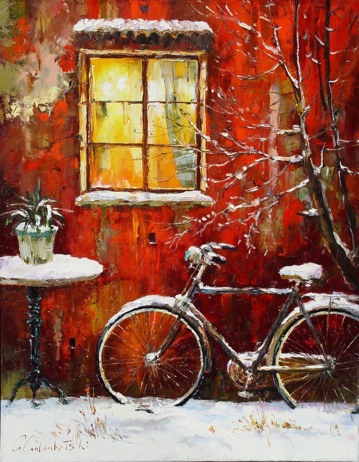 Gleb Goloubetski Winter evening