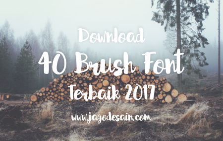 Download 40+ Brush Font Terbaik 2017