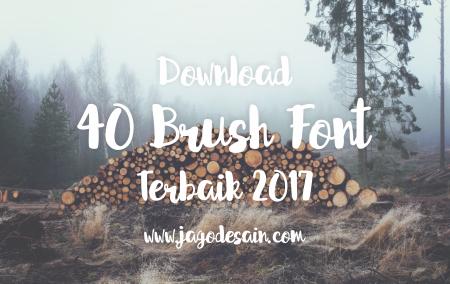 Download 40+ Brush Font Terbaik 2017