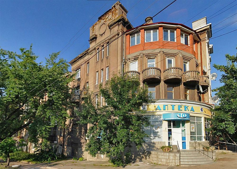 Здания в Крыму, построенные пленными немцами