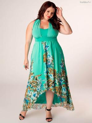 vestidos de moda tallas xl
