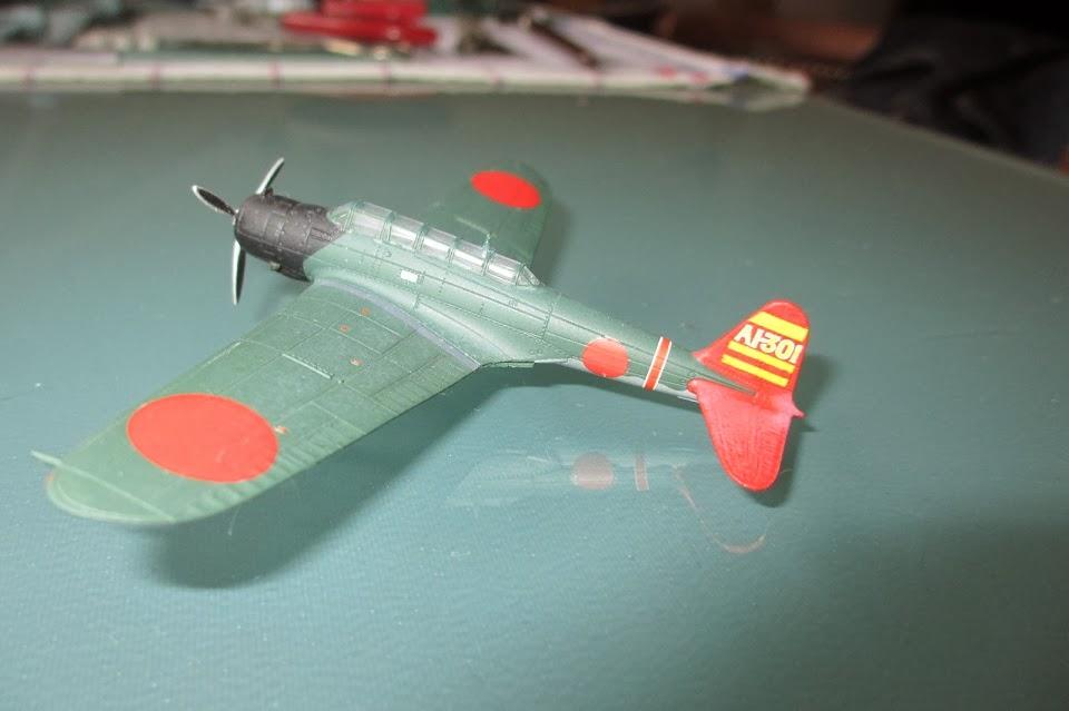 1/144 Nakajima B5N Kate Akagi diecast aircraft