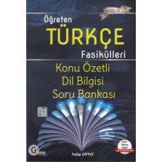 Gür Yayınları Öğreten Türkçe Fasikülleri Dil bilgisi Konu Özetli Soru Bankası