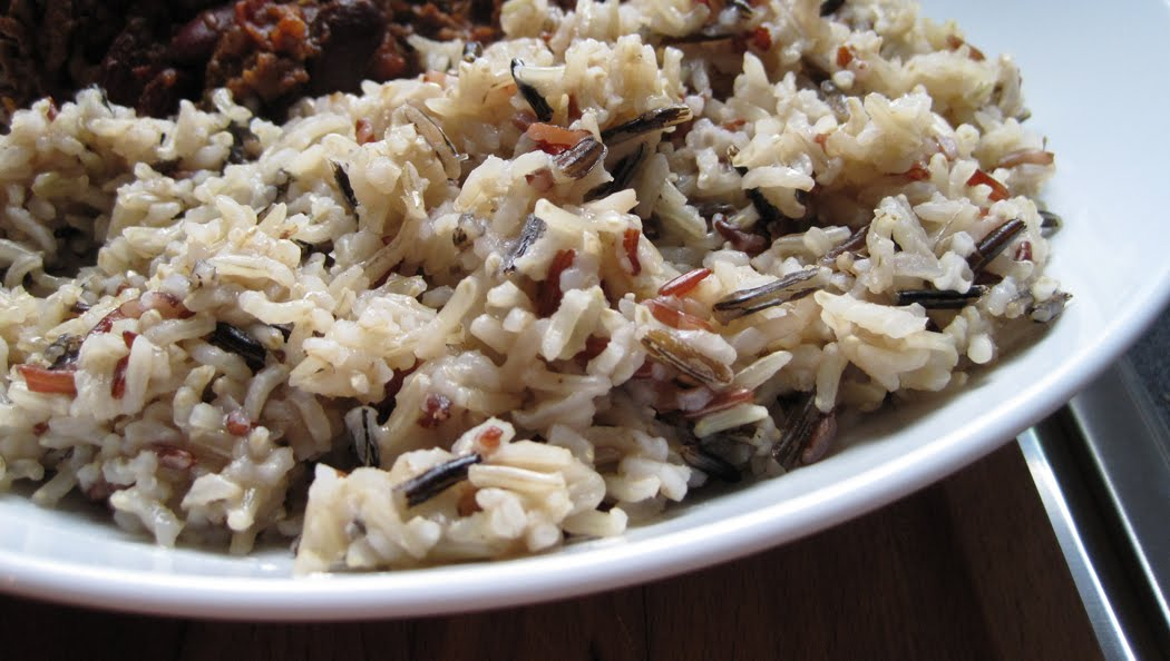 Carmargue Red and Brown Basmati with Wild Rice Mixture