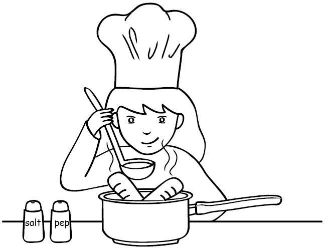 Desenhos de meninos e meninas para imprimir atividades for Cucinare per 300 persone