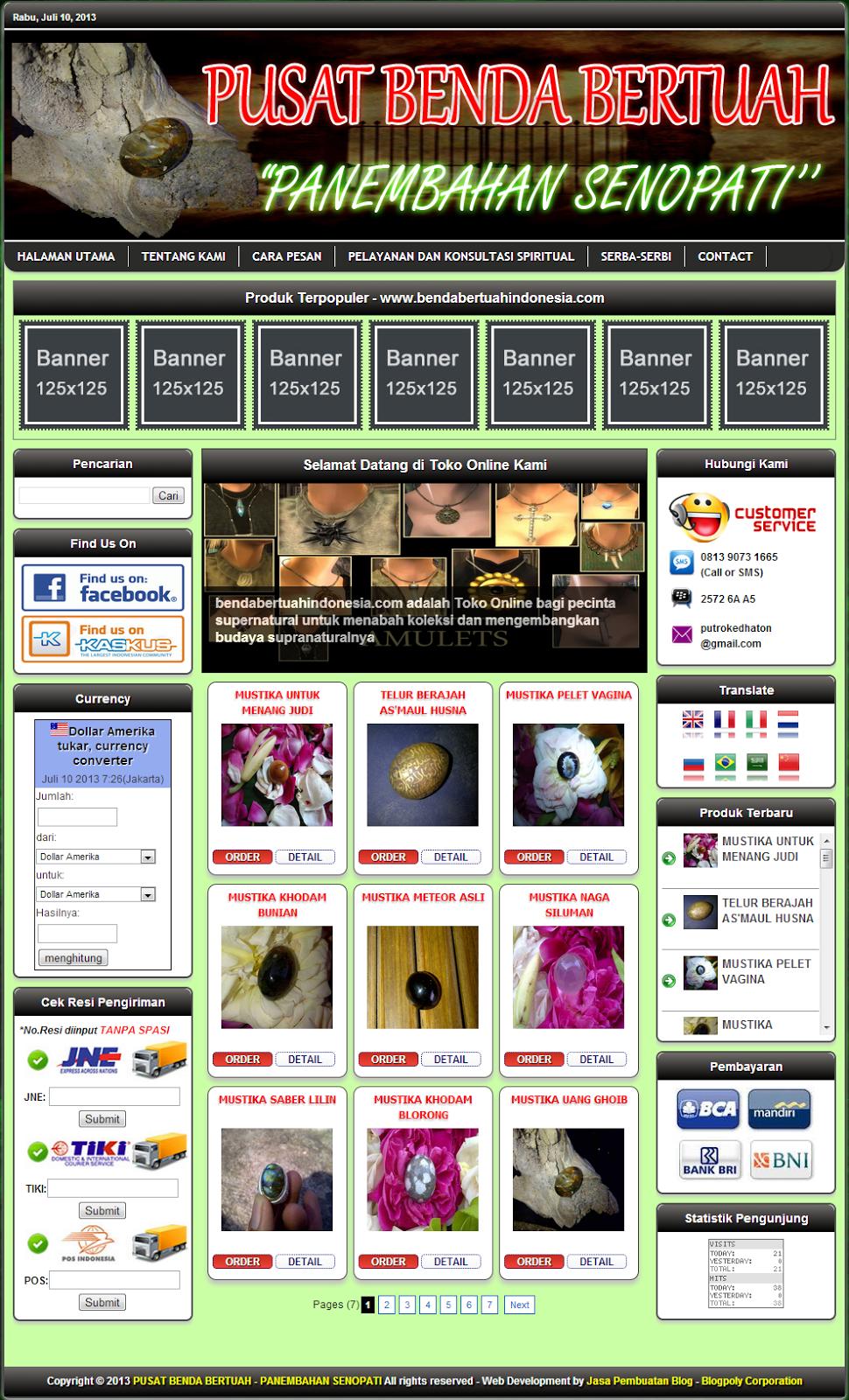 Jasa Buat Blog Toko Online Murah