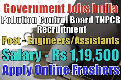 TNPCB Recruitment 2019