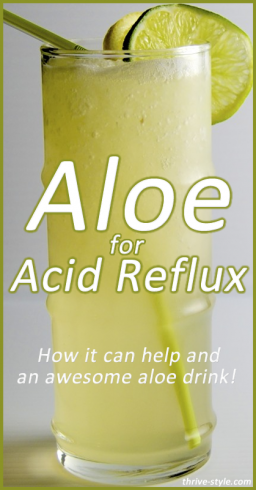 Aloe Vera for Acid Reflux