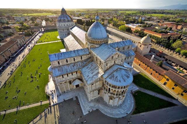 Arquitectura paleocristiana de Pisa | Italia | Arte Paleocristiano