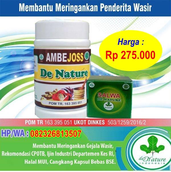 Agen AMBEJOSS (Obat Ambeien Tanpa Operasi) di Gorontalo