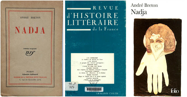 couverture originale  de Nadja d'André Breton