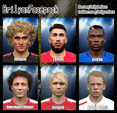 PES 2016 Facepack Euro 2016 v2 by Brilyam