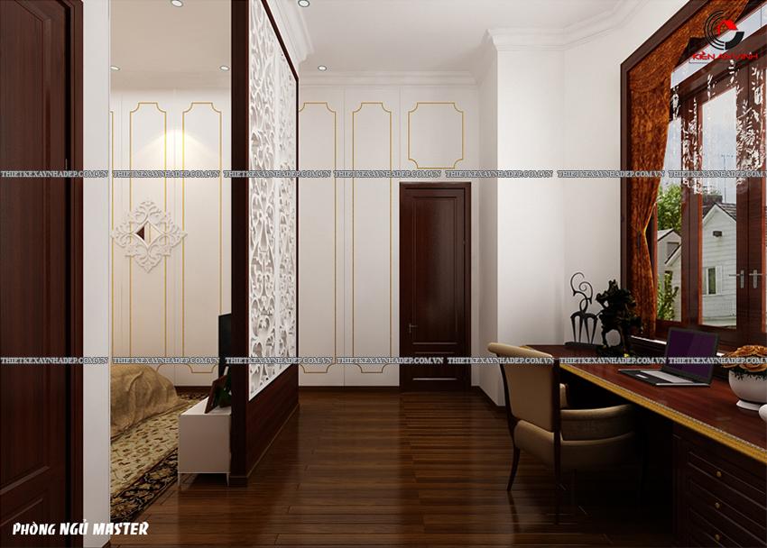 Mẫu thiết kế biệt thự nhà vườn 1 tầng đẹp hiện đại dt 150m2 Phong-ngu-master-3