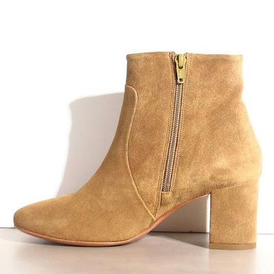 Boots daim gold Sessun