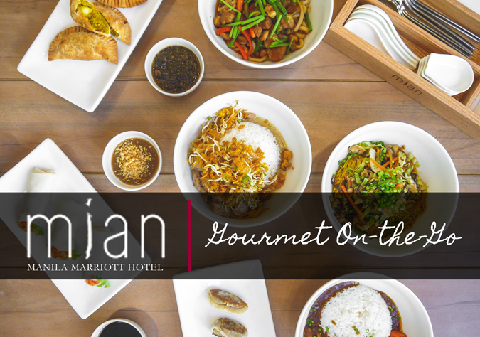 Mian at Manila Marriott Hotel: Gourmet On-the-Go