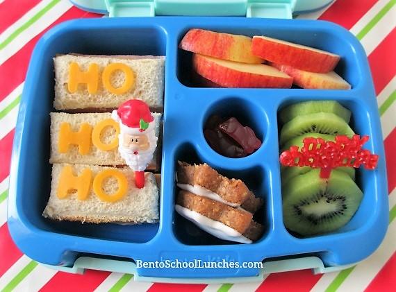 HO HO HO Christmas themed lunch in Bentgo.