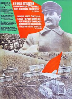 """""""Impegnatevi per la ricostruzione dell'agricoltura"""" manifesto sovietico del 1932."""