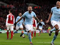 Habisi Arsenal 3-0, Manchester City Juara Piala Liga Inggris