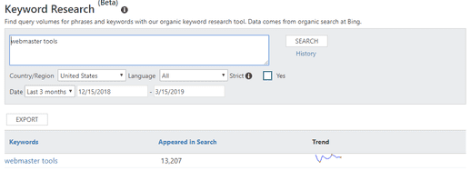 Bing Webmaster Tools - Keyword Research.png
