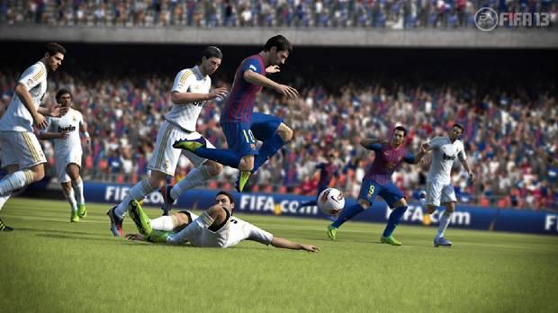 FIFA 13 com Tiago Leifert e Caio Ribeiro