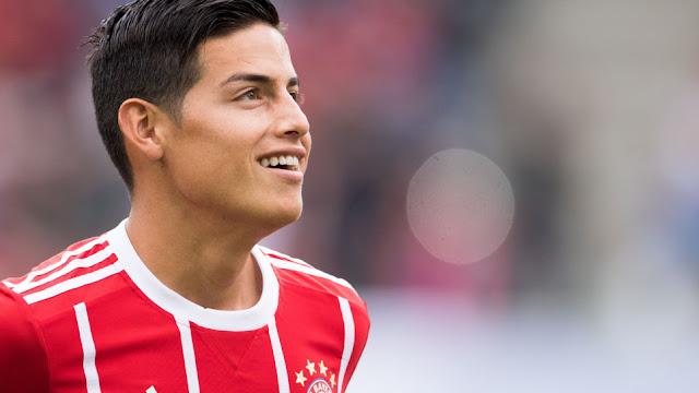 """James Rodríguez: """"El Bayern es igual de grande o más que el Madrid"""""""