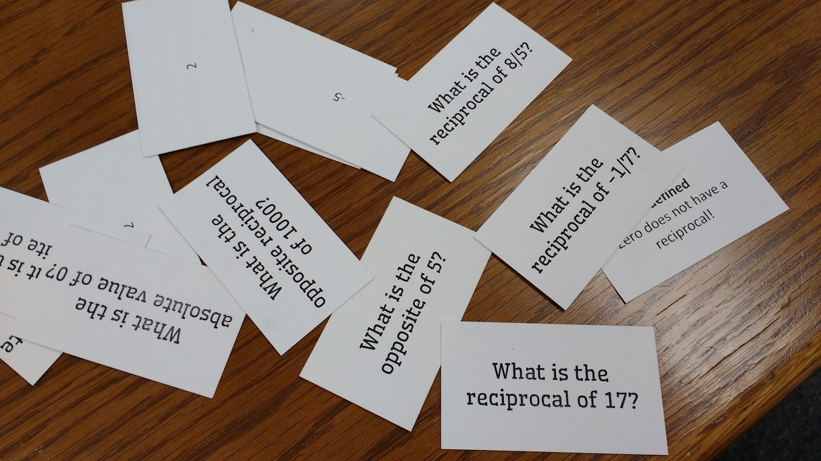 Math Love Speed Dating Activity For Absolute Value Opposite Reciprocal And Opposite Reciprocal
