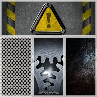 Texturas metálicas HD - Pack 5
