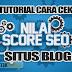 Tutorial Cara Cek Nilai Atau Score SEO Halaman Situs Blog
