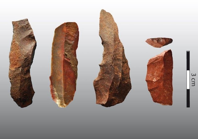 Early humans used innovative heating techniques to make stone blades