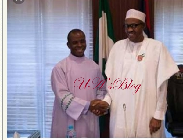 Apologize For The Blood Of Holy Men & Women Shed Under Your Government – Father Mbaka To Buhari [VIDEO]