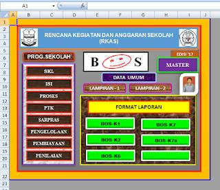 Aplikasi RKAS SD 2017 Sesuai dengan Juknis BOS 2017