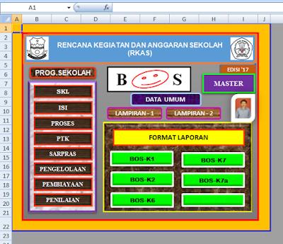 Aplikasi RKAS BOS 2017 Jenjang SD SMP SMA