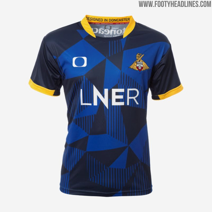 DONCASTER ROVERS FC Official Home Football Shirt 2019-2020 NEW Men/'s Jersey
