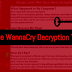 Don't cry: Free WannaCry decryption tools released online.