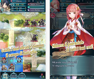 Gioco RPG Fire Emblem per Android e iPhone