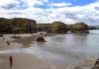 Playa gallega